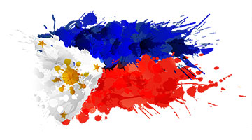 Philippines flag & arms